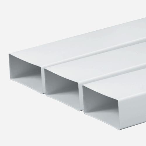 Kanál plochý, 150 mm x 75 mm x 1500 mm, plastový