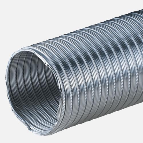 Potrubí AL-flexi, Ø100 mm x 1 m, hliník
