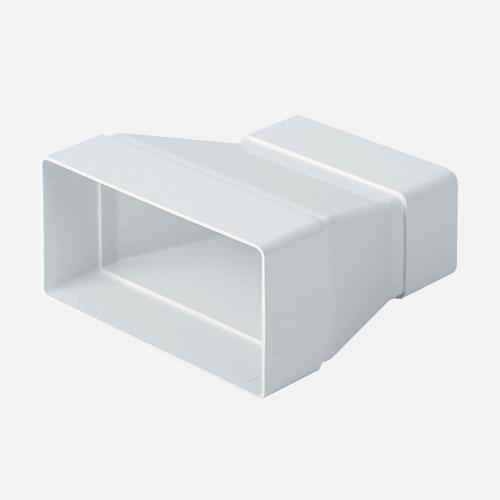 Článek přechodový plochý, 150 mm x 75 mm / 110 mm x 55 mm, plastový
