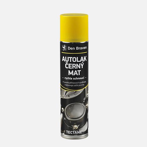 Autolak černý mat, sprej 400 ml