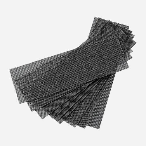 Brusná mřížka na sádrokartony, 280 mm x 93 mm, zrnitost 100, balení 10 ks