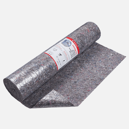COVERTEX Malířská absorpční textilie s krycí PE vrstvou, 1 m x 10 m