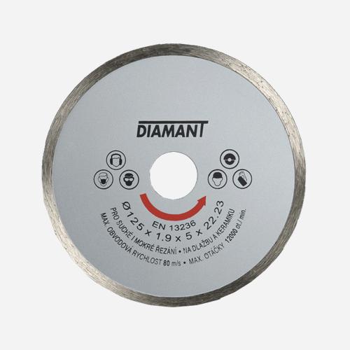 Diamantový kotouč plný STANDARD, 150 mm