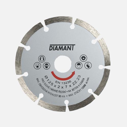 Diamantový kotouč segmentový STANDARD, 125 mm