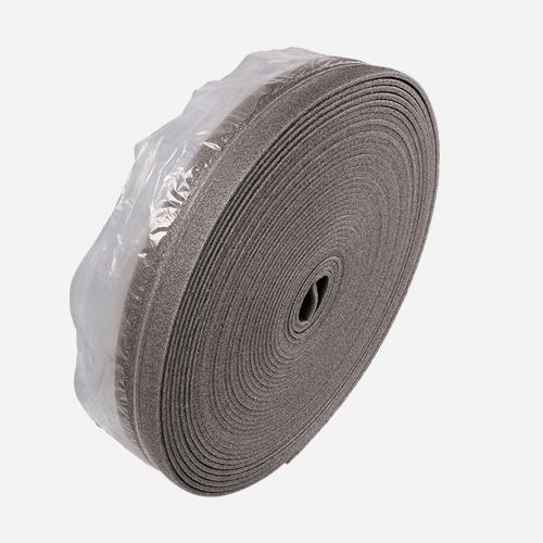 Dilatační pás, 80 mm x 50 m, tloušťka 5 mm, s fólií, šedý