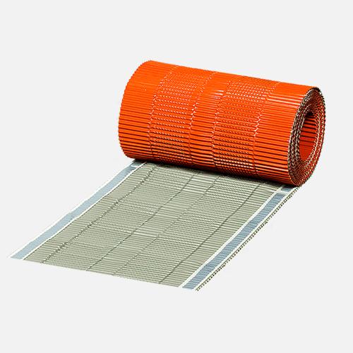 Hřebenový pás METAL ALU, 5 m x 310 mm, cihlově červený