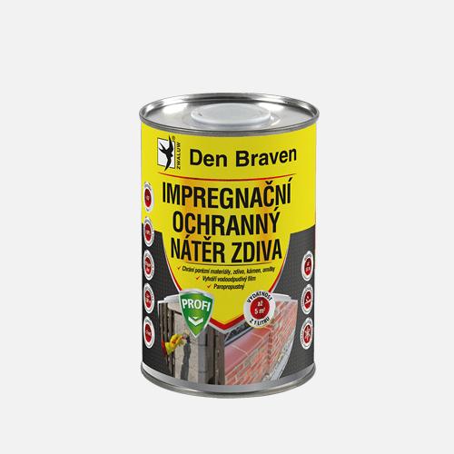 Impregnační a ochranný nátěr zdiva PROFI, dóza 1 litr