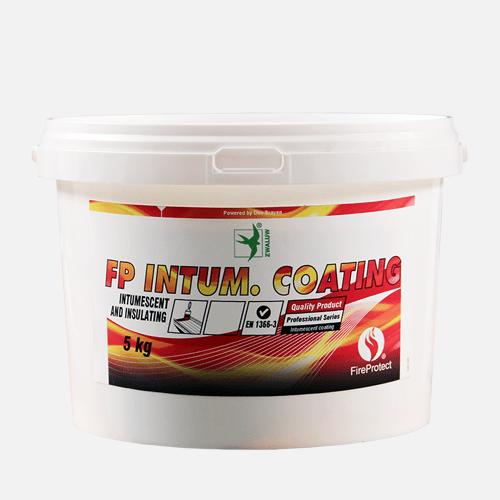 Intumescentní  nátěr, kbelík 5 kg, bílý