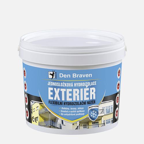 Jednosložková hydroizolace EXTERIÉR, kbelík 13 kg, modrá