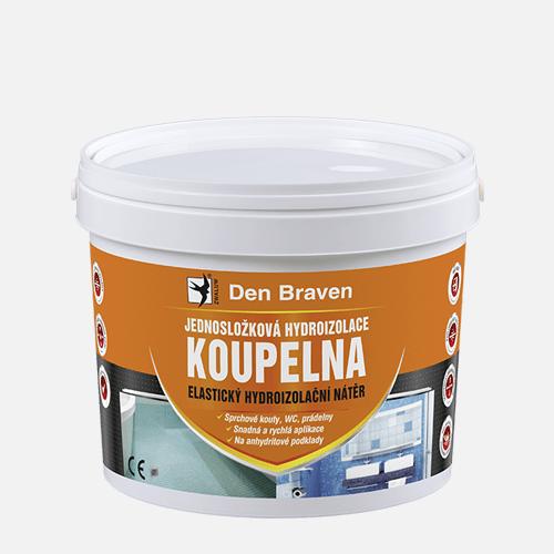 Jednosložková hydroizolace KOUPELNA, kbelík 13 kg, medově hnědá