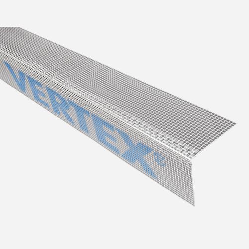 Kombi lišta rohová  s tkaninou VERTEX, 10 cm x 10 cm x 2 m