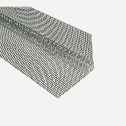 Kombi lišta rohová  s tkaninou, 10 cm x 10 cm x 2 m