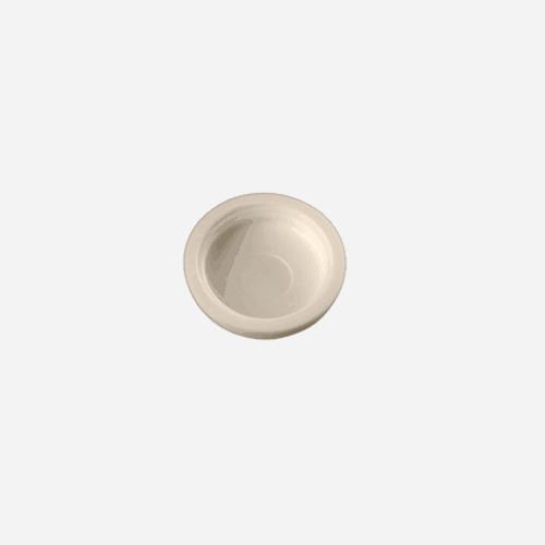 Krycí čepička pro Turbo šrouby s plochou hlavou, 15 mm, bílá