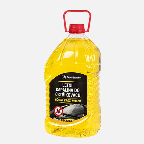 Letní kapalina do ostřikovačů, PET láhev, 5 litrů, žlutá