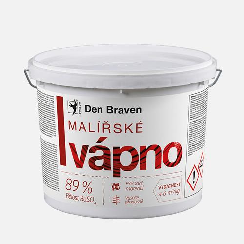 Malířské vápno, kbelík 11 kg, bílé