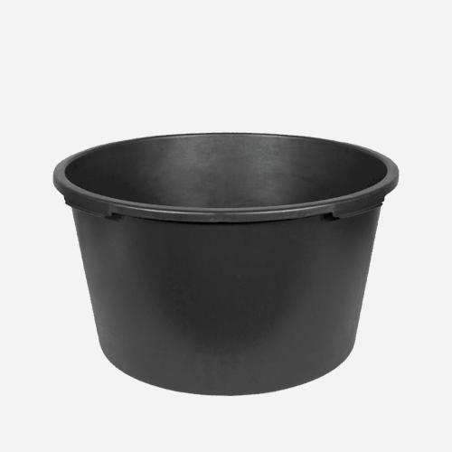 Maltovník kulatý, 40 litrů, plastový, černý