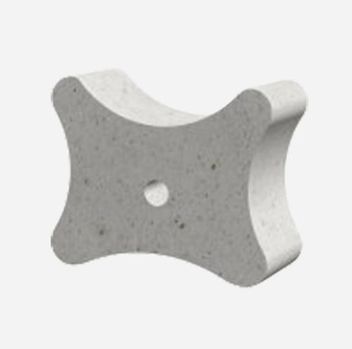 Betonový motýlek 35K24, krytí 35-40-50 mm, bez drátku