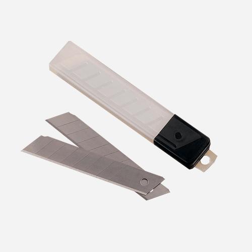 Náhradní výměnné čepele pro odlamovací nůž, 18 mm, 10 ks