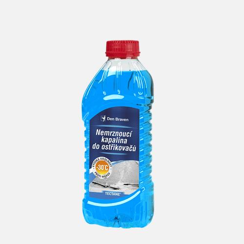 Nemrznoucí kapalina do ostřikovačů -30 °C, PET láhev, 1 litr, modrá