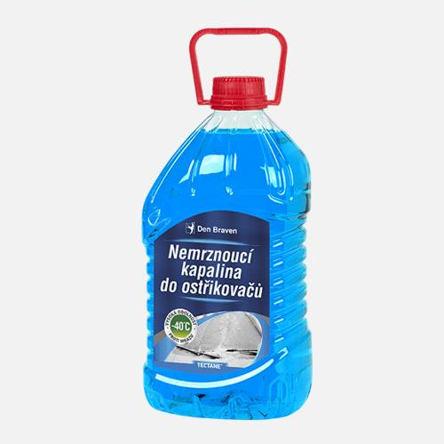 Nemrznoucí kapalina do ostřikovačů -40 °C, PET láhev, 3 litry, modrá
