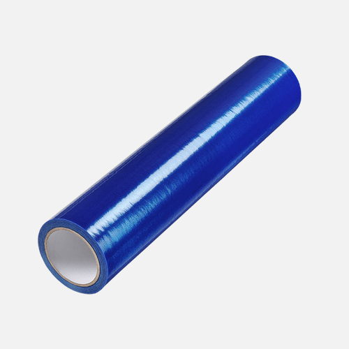 Ochranná samolepicí folie na okna a dveře LDPE, 0,5 m x 75 m, modrá tloušťka 35