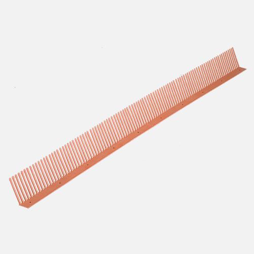 Okapový hřeben COMB, 60 mm x 1000 mm, cihlově červený