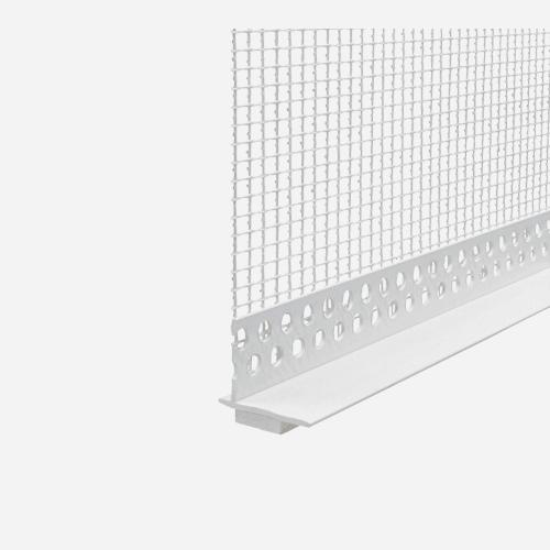 Okenní profil pro zateplovací systémy, LPE plast PVC, 2 m