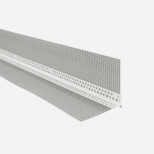 Okenní profil pro zateplovací systémy, LT plast PVC 100 mm x 100 mm, 2 m