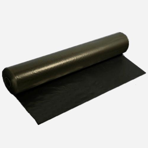 PE fólie stavební rukáv , 1 m x 160 m, černá