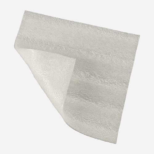 Pěnový PE pás pod plovoucí podlahy, 1,1 m x 100 m, tloušťka 5 mm, bílý