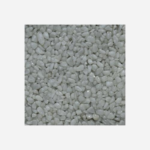 Mramorové kamínky 3 - 6 mm, pytel 25 kg, bílé