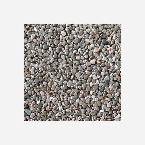 Mramorové kamínky 3 - 6 mm, pytel 25 kg, hnědošedé