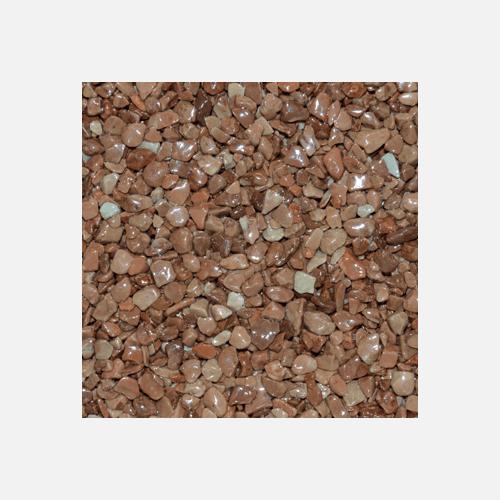 Mramorové kamínky 3 - 6 mm, pytel 25 kg, hnědé