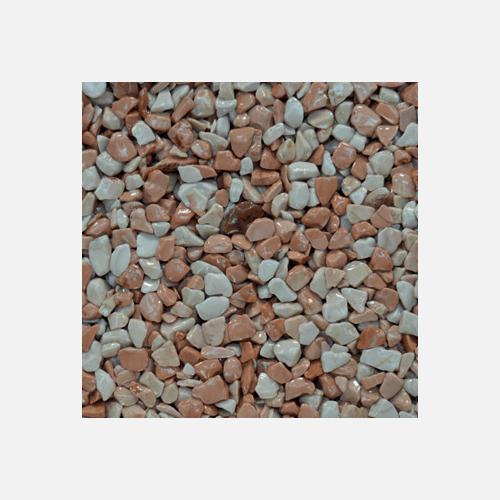 Mramorové kamínky 3 - 6 mm, pytel 25 kg, růžové