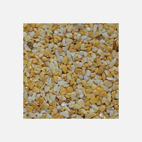 Mramorové kamínky 3 - 6 mm, pytel 25 kg, žluté