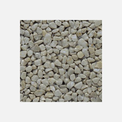 Mramorové kamínky 3 - 6 mm, pytel 25 kg, slonová kost