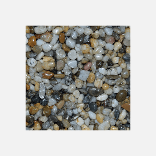 Říční kamínky 4 - 6 mm, pytel 25 kg, oblé
