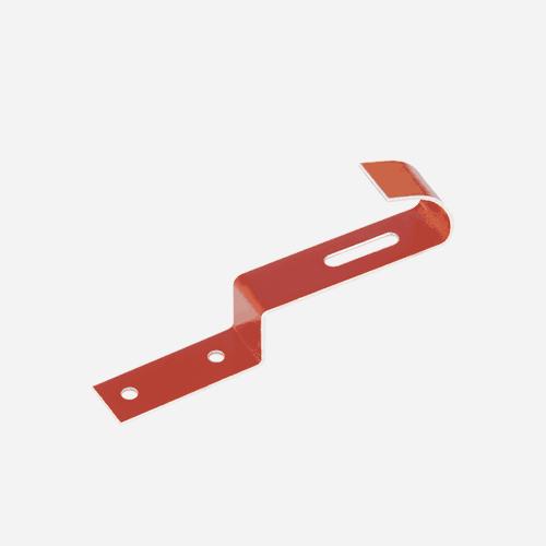 Příchytka hřebenových tašek CLAMP, cihlově červená