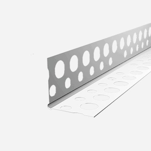 Rohový profil PVC zaoblený LP, 2,5 m, plastový, bílý