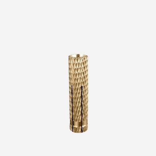 Rozpínací pouzdro, 8 mm / M6 x 24 mm, mosazné