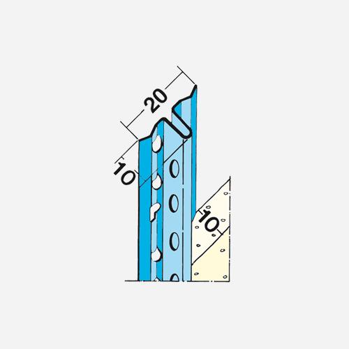Rychloomítník 1105, 3 m x 10 mm, kovový