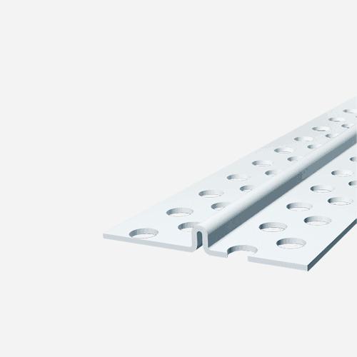 Rychloomítník z PVC, 3 m x 6 mm, plastový, bílý