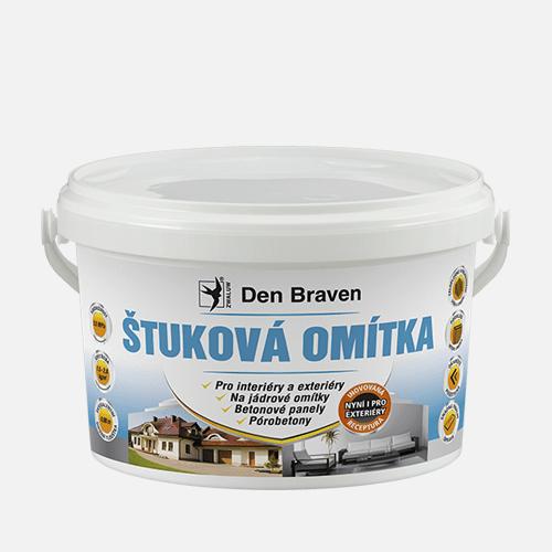 Štuková omítka, kbelík, 4 kg, bílá