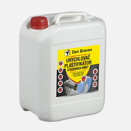 Urychlovač a plastifikátor stavebních hmot, kanystr 5 litrů