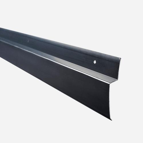 Zakončovací profil pro nopové fólie, 2 m x 7,5 cm, černá