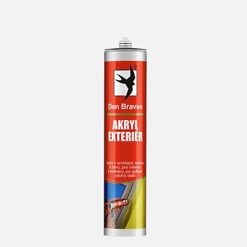 Akryl Exteriér, kartuše 310 ml, šedá