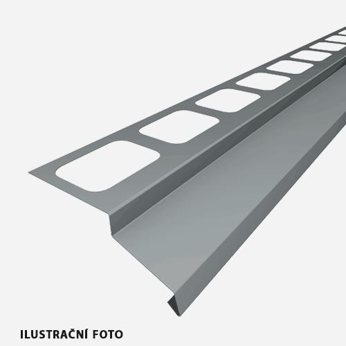 Balkónový profil, 2 m, RAL 8017, hnědý