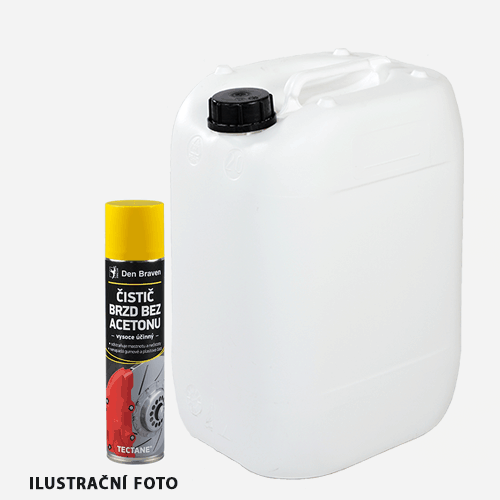 Čistič brzd bez acetonu, kanystr 5 litrů