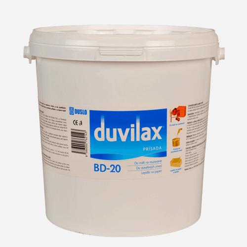 Duvilax BD-20 přísada, vědro 30 kg, bílá