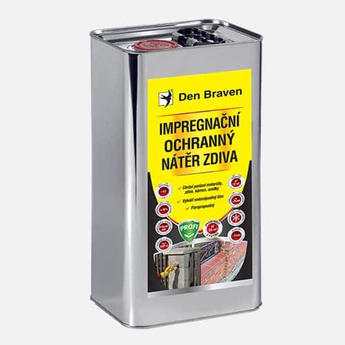 Impregnační a ochranný nátěr zdiva PROFI, kanystr 5 litrů